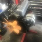 Motor schön sauber