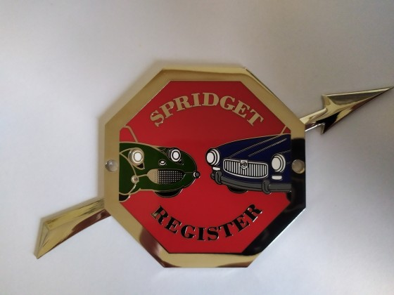 Spridget Register Badge