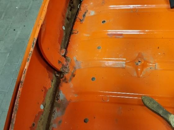 Blecharbeiten - Kofferraum